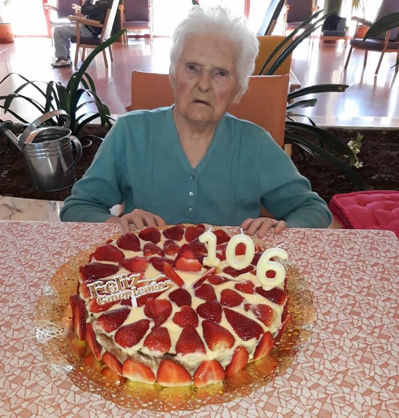 Isolina 106 años