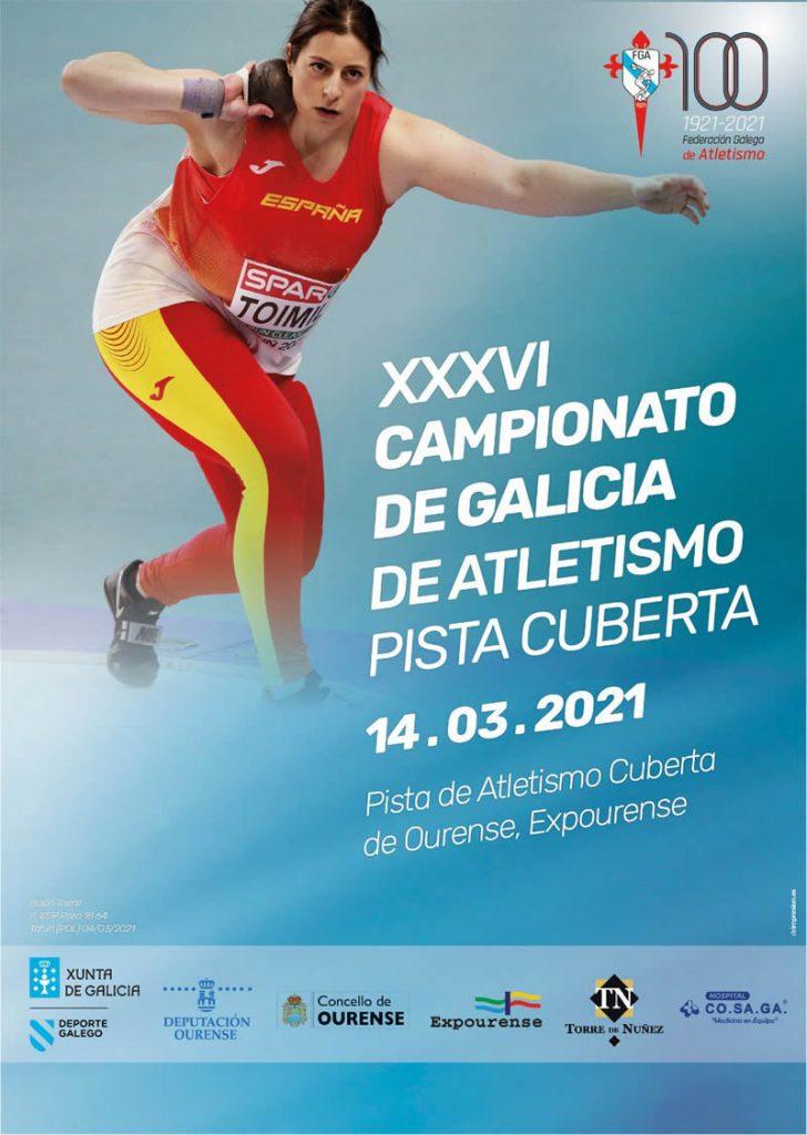 XXXVI Campeonato de Galicia de Atletismo en Pista Cubierta