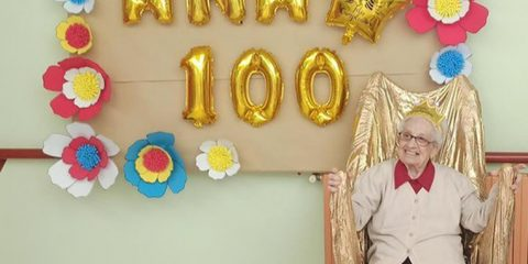 Ana cumple 100 años