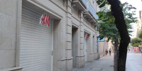 Calle Do Paseo y H&M