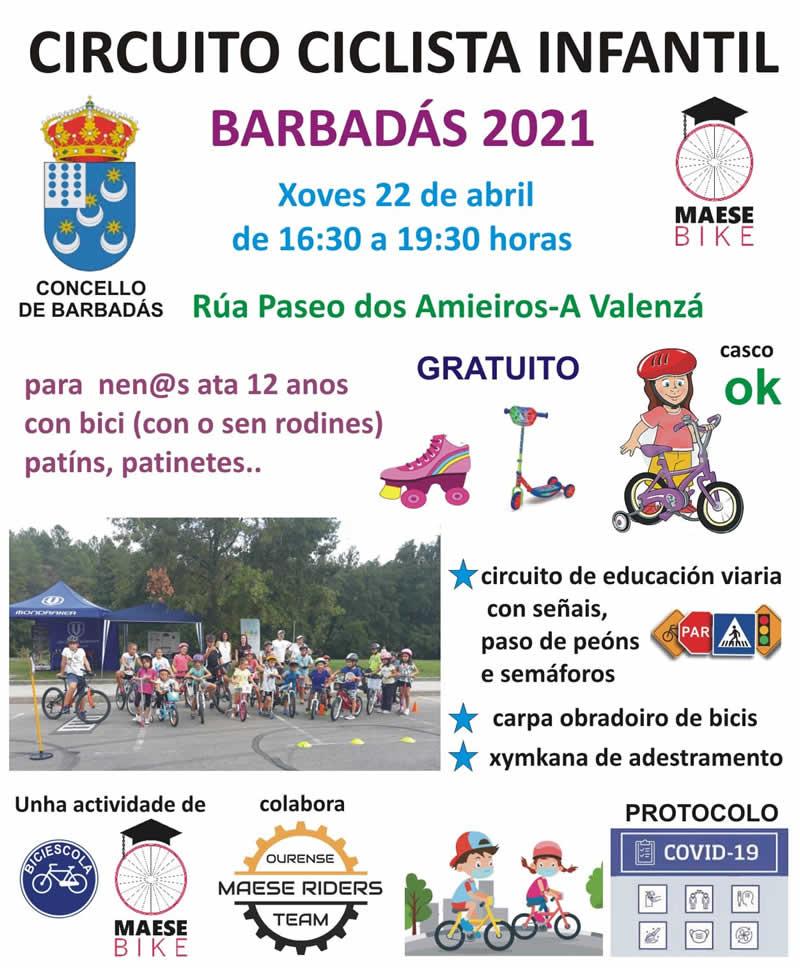 Circuito Ciclista Barbadás 2021 Maese