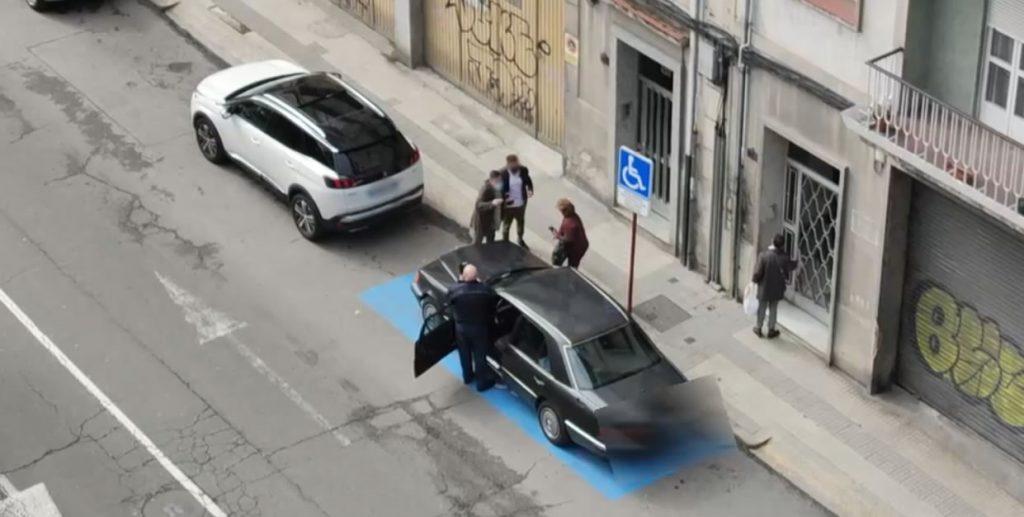 Discusión por plaza aparcamiento