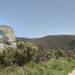 Graffiti en el Xurés
