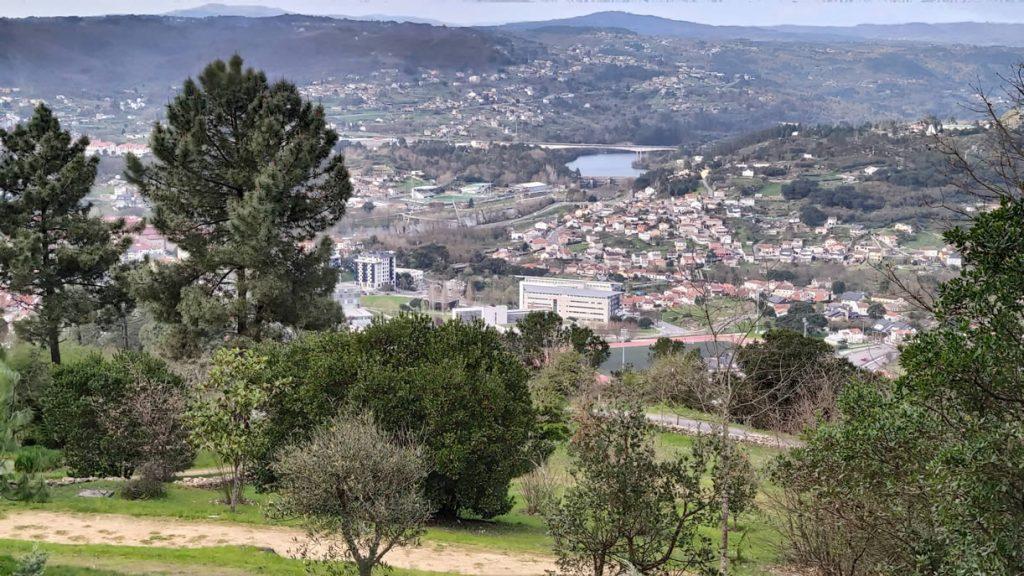Ourense desde Montealegre