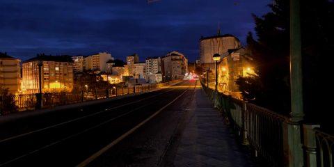 Puente de Marcelo Macías a oscuras
