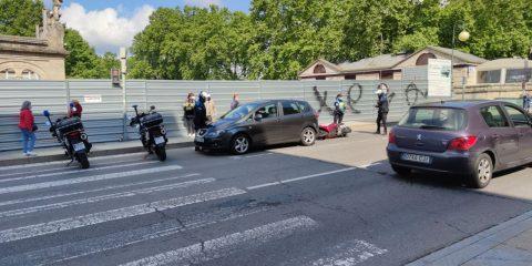 Accidente moto Progreso