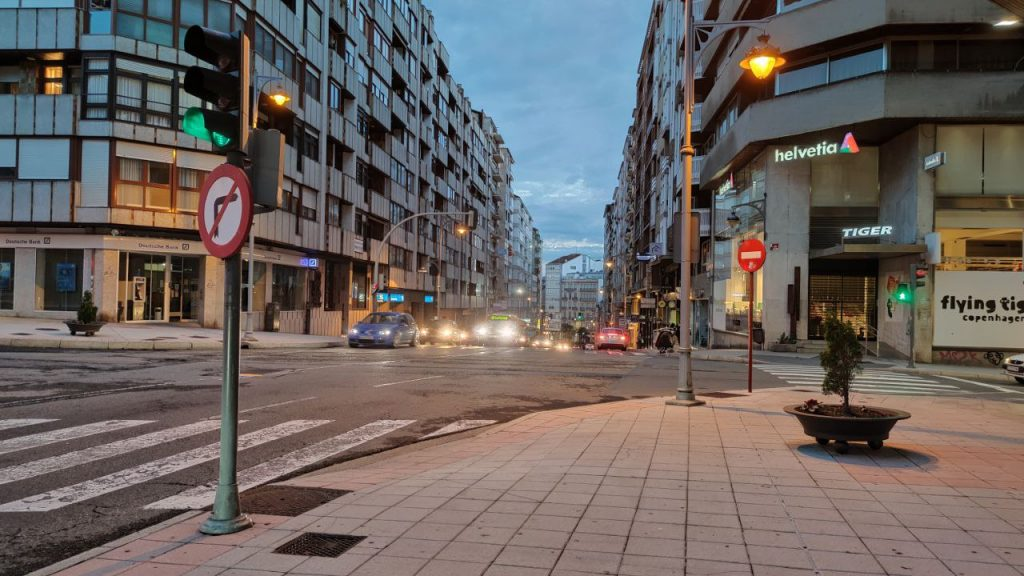 Calle Juan XXIII de Ourense
