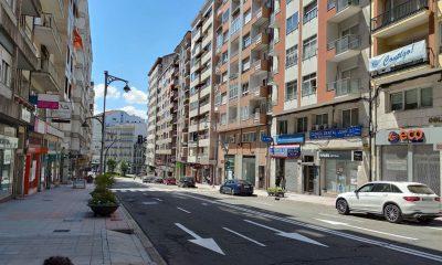 Calle Juan XXIII en Ourense