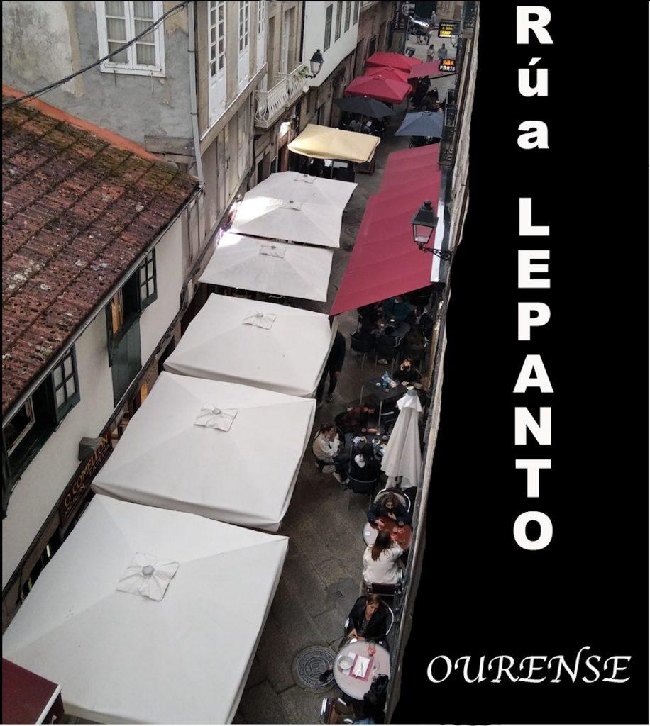 Calle Lepanto de Ourense
