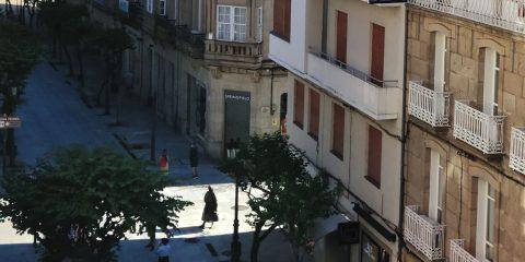 Calle Paseo en Ourense