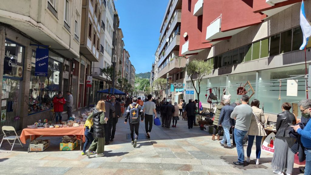 Feria de las antigüedades de Ourense