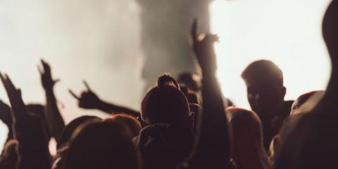 Fiesta discoteca noche