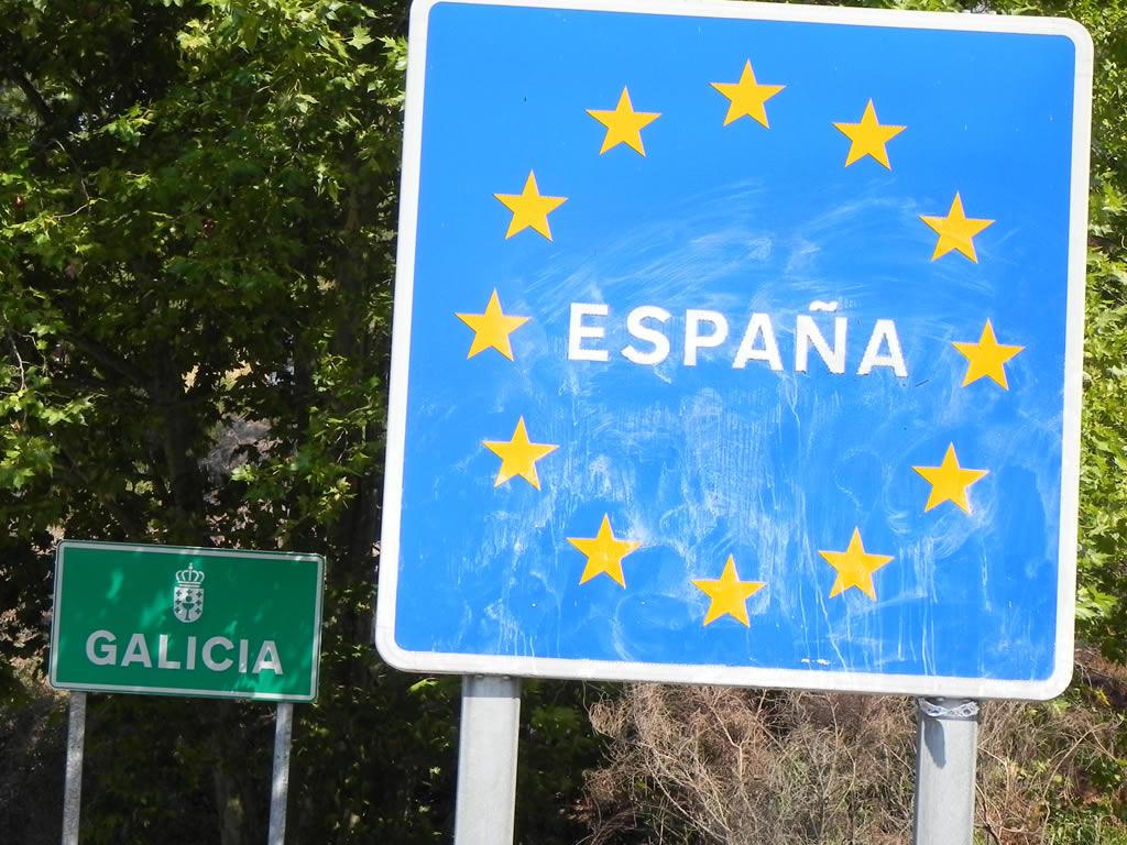 Frontera Galicia España Portugal