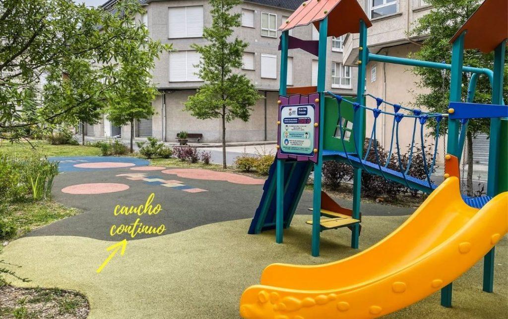 Parques infantiles de Verín