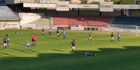 Partido del Ourense CF en O Couto