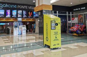 Reciclos en el Centro Comercial Pontevella
