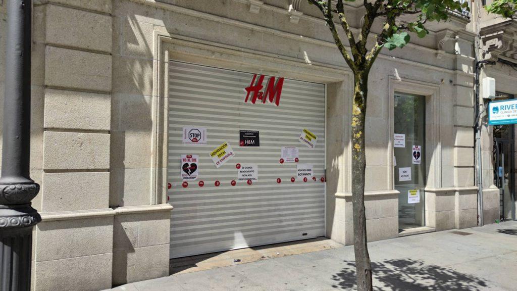 Tienda de H&M de Ourense en el Paseo