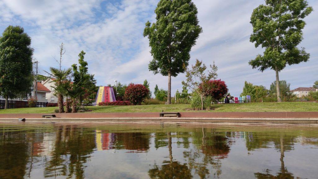 Vista de los Jardines de Allariz