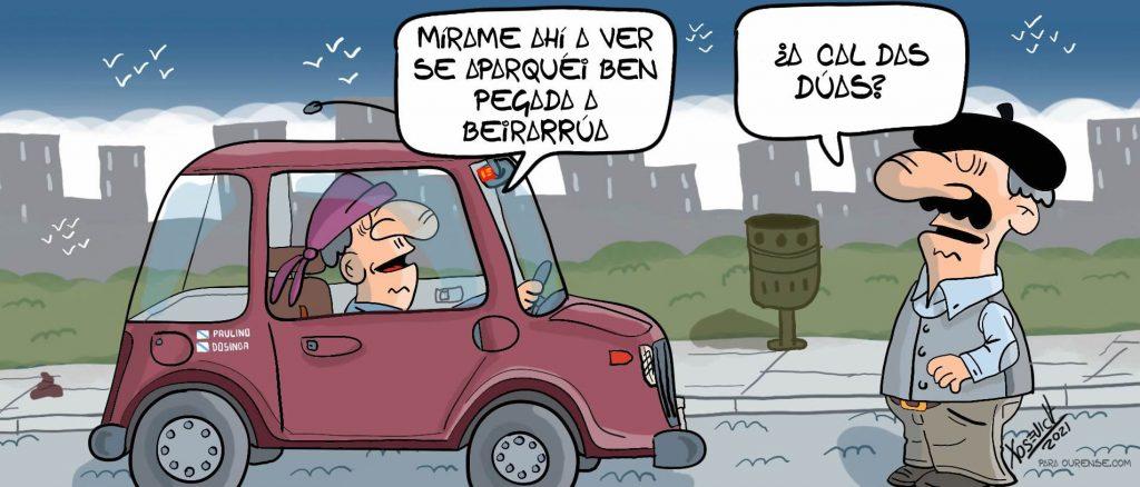 Xosevich 2021 Paulino aparcar acera