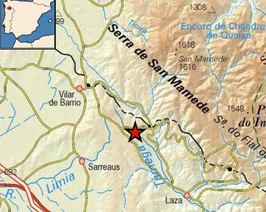 terremoto Sarreaus