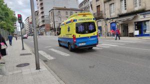 Ambulancia en el Posío