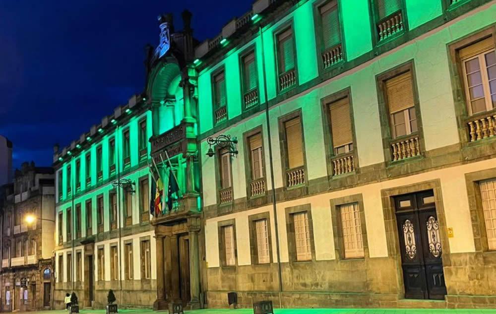 Diputación en verde