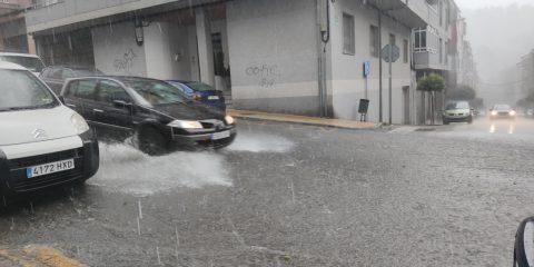 Fuertes Lluvias en Ourense