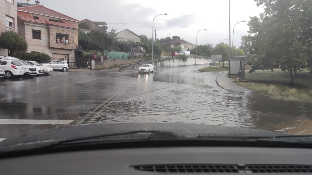 Inundaciones en A Valenzá