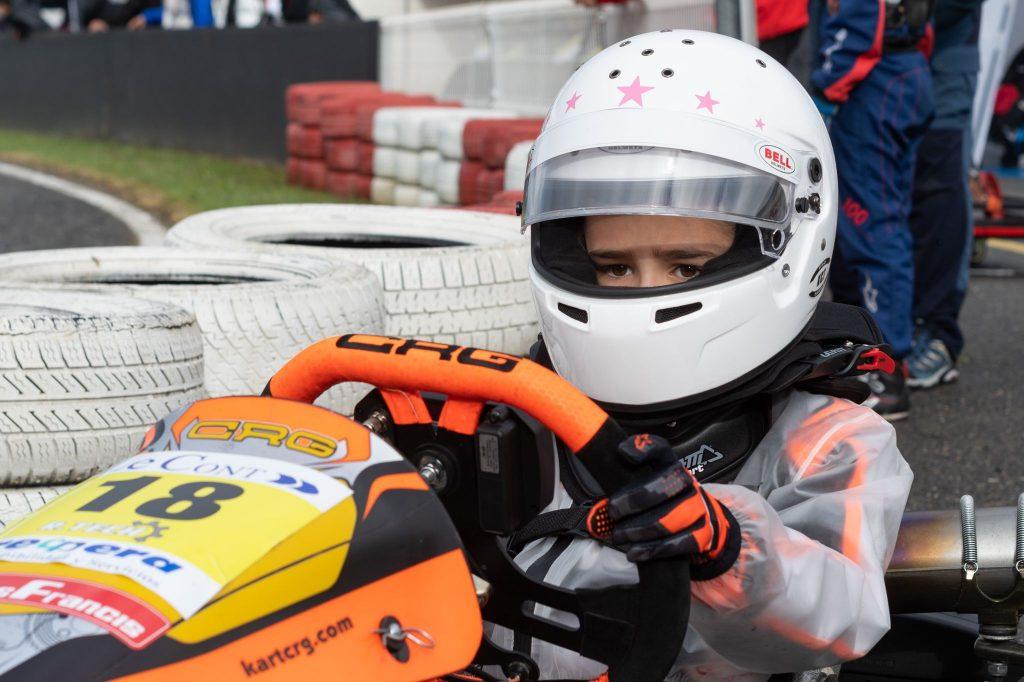 Mara Campos promesa del karting