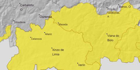 Tormentas en Ourense