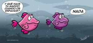 Xosevich 2021 chistes de peces nada humor