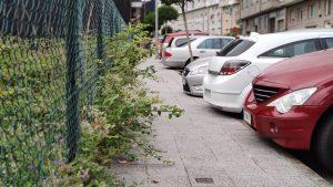 Acera Calle Areal en A Valenzá Barbadás