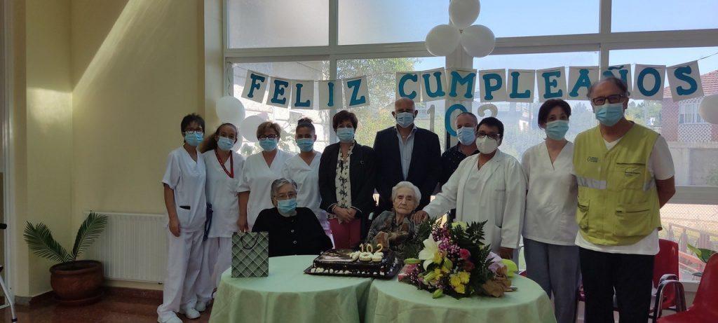 Doña Genoveva 120 años