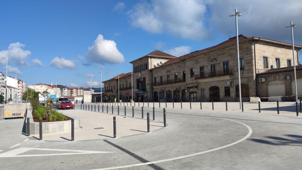 Estación de tren de Ourense en A Ponte