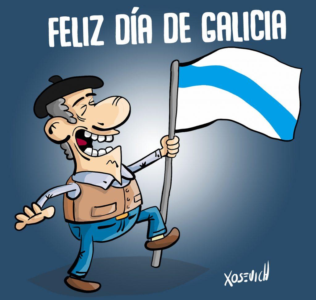 Feliz Día de Galicia a todos los gallegos
