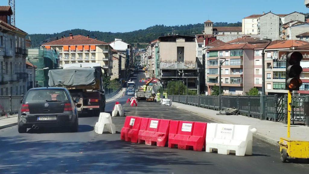 Obras y tráfico en Marcelo Macías