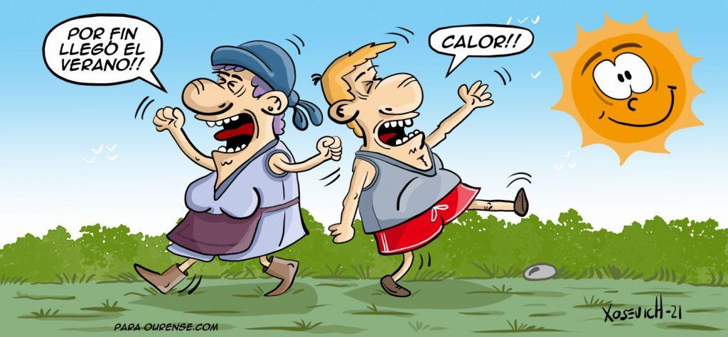 Por fin llegó el verano y el calor xosevich 21 humor memes chistes altas temperaturas