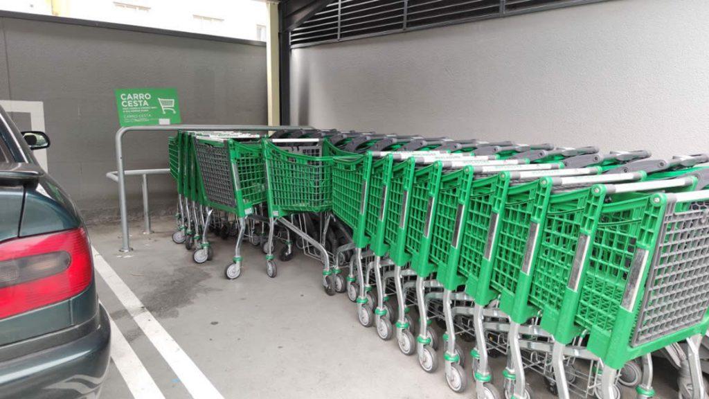 Carros de los Supermercados