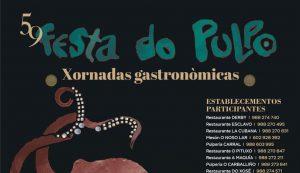 Cartel de la 59 Festa Do Pulpo 2021