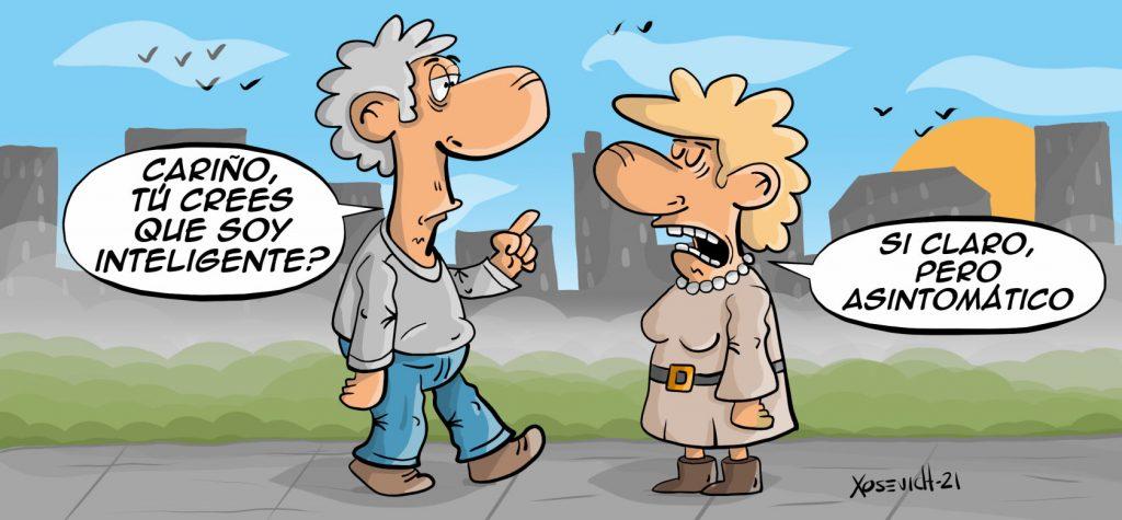 Chistes cortos de inteligencia asintomática humor risas humor Xosevich 21