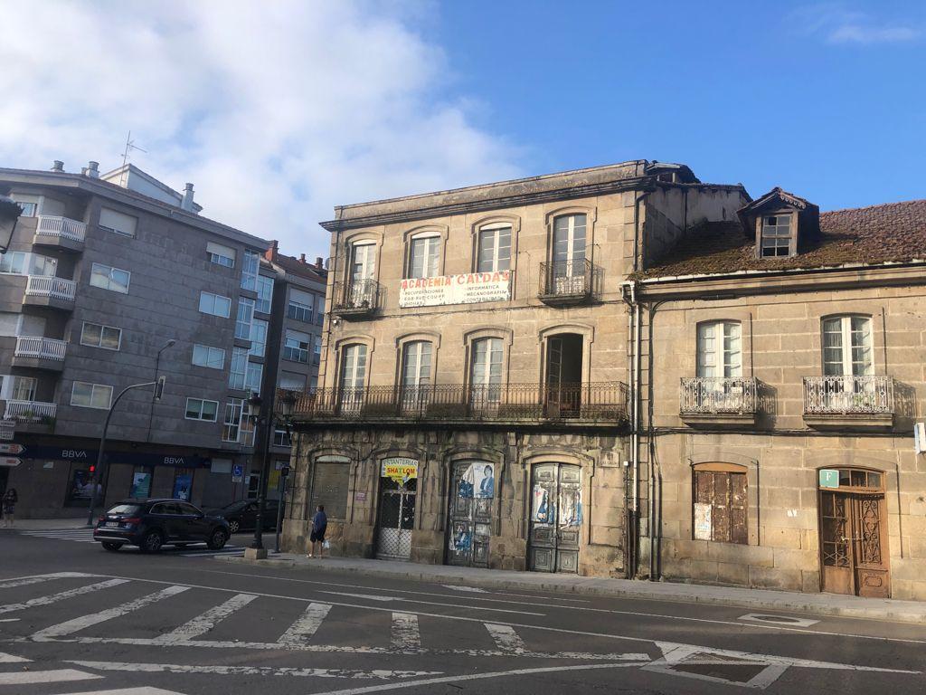 Edificio histórico avenida das Caldas