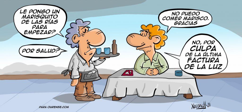 Recibo y Factura de la luz subida precio y tarifas Endesa Iberdrola Naturgy Meme Humor chistes