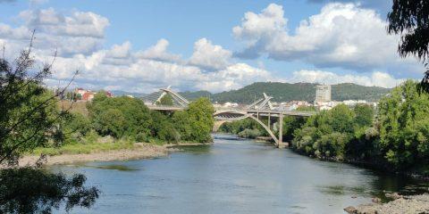Río Miño y Puentes de Ourense