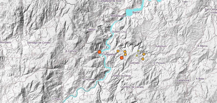 Terremoto Cortegada