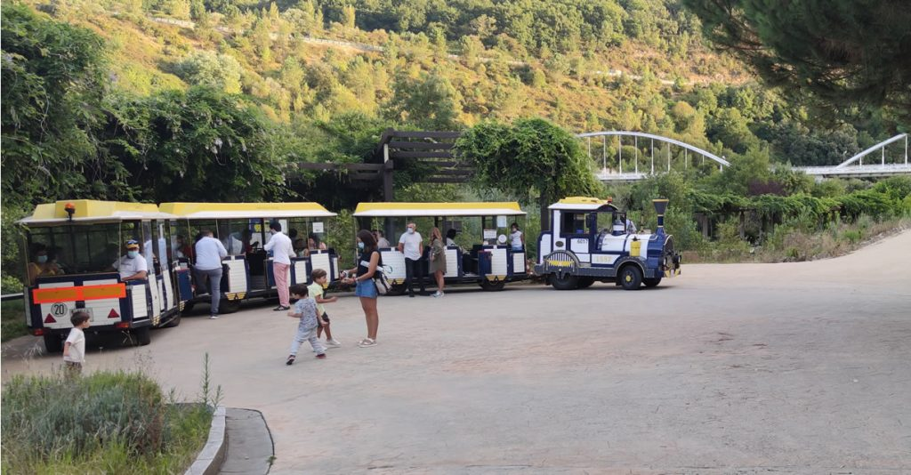 Tren turismo a las Termas