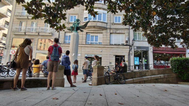 Turistas en Ourense