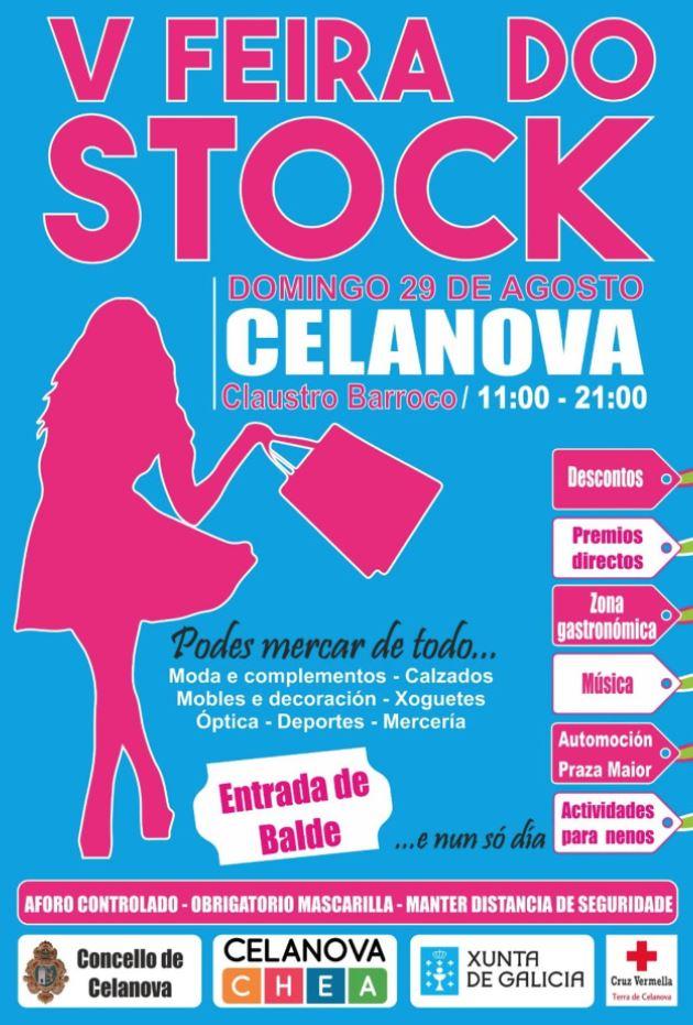 V Feira do Stock de Celanova