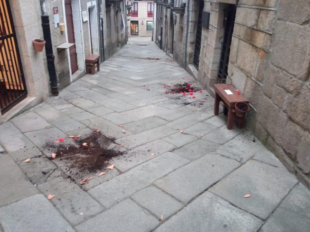 Vandalismo en Allariz