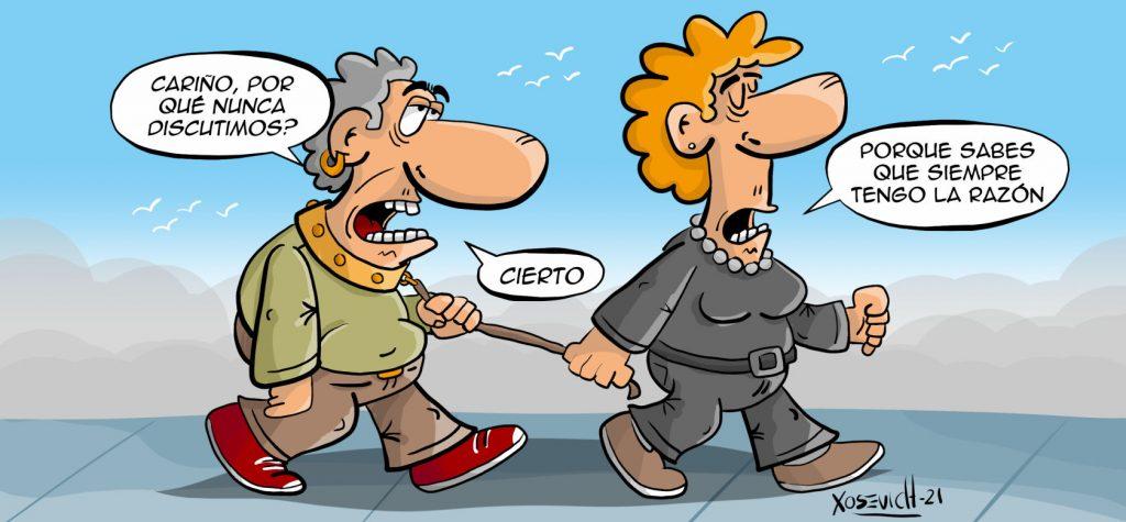 Chistes de matrimonios siempre tiene la razon humor memes Xosevich 21