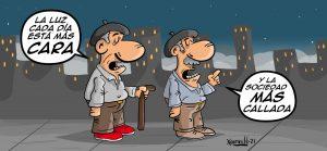 el precio de la luz está cada día más caro estafa eléctricas chistes memes humor denuncia xosevich 21